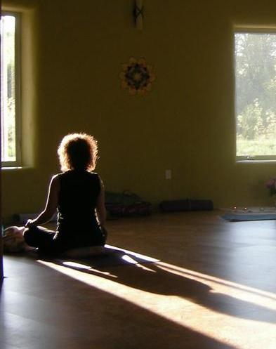 Morning Meditation at Sugar Ridge Retreat Centre