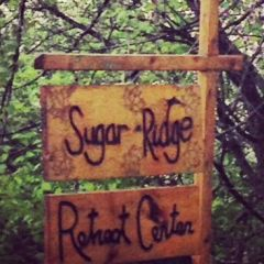 Sugar Ridge sign