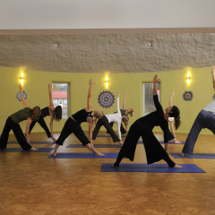 2030  yoga group triangle