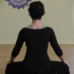 2033 sitting meditation - Tara's back