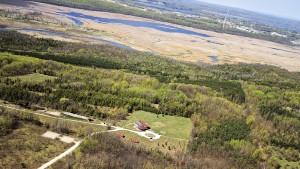 Aerial Photo of Sugar Ridge