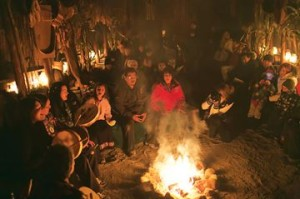 First Light Drum Circle