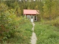 Sugar Ridge cabin path