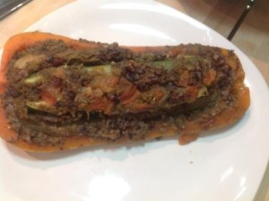 Finished Stuffed Squash