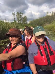 Canoeing Aug 2015