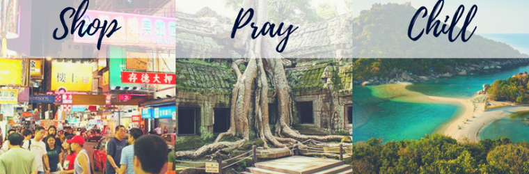 Shop, pray, chill. Explore Asia 2018 Retreat