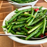 Lemon Green Beans with Dill